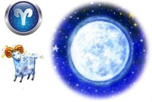 Луна в овне