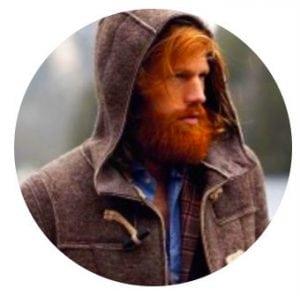 мужчина бородатый