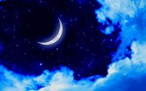 звезды и месяц