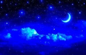 звезды небо луна