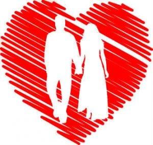сердце в паре