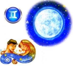 луна и близнецы