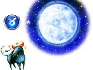 луна и телец