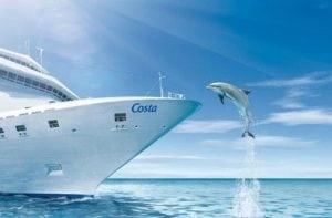 корабль и дельфин