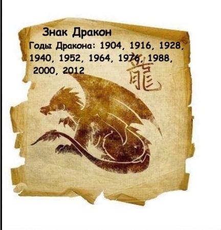 годы жизни дракона