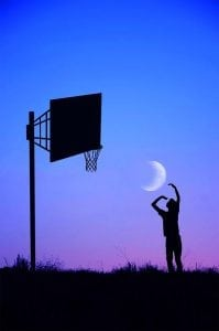 спорт с луной