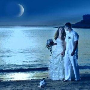 растущая луна и свадьба