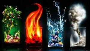 4 элемента в китае