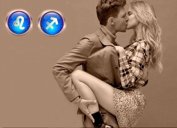 мужчина и женщина при первом поцелуе
