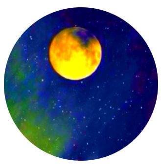 луна и небо
