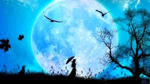 гуляние на полную луну