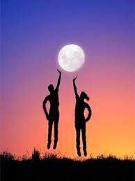 луна и физкультура