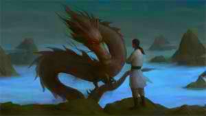 дракон и мужчина