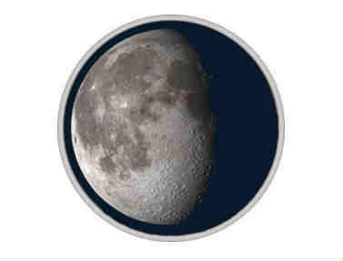 луна в 3 четверти