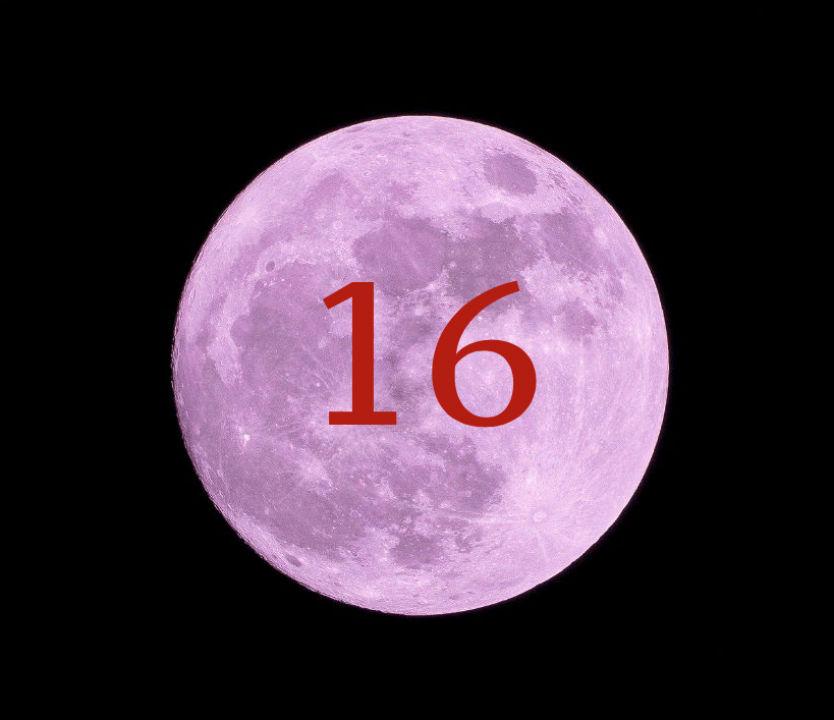 Луна в доме 16