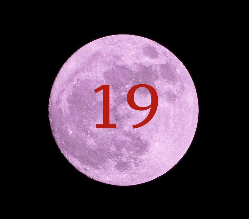 Луна в доме 19