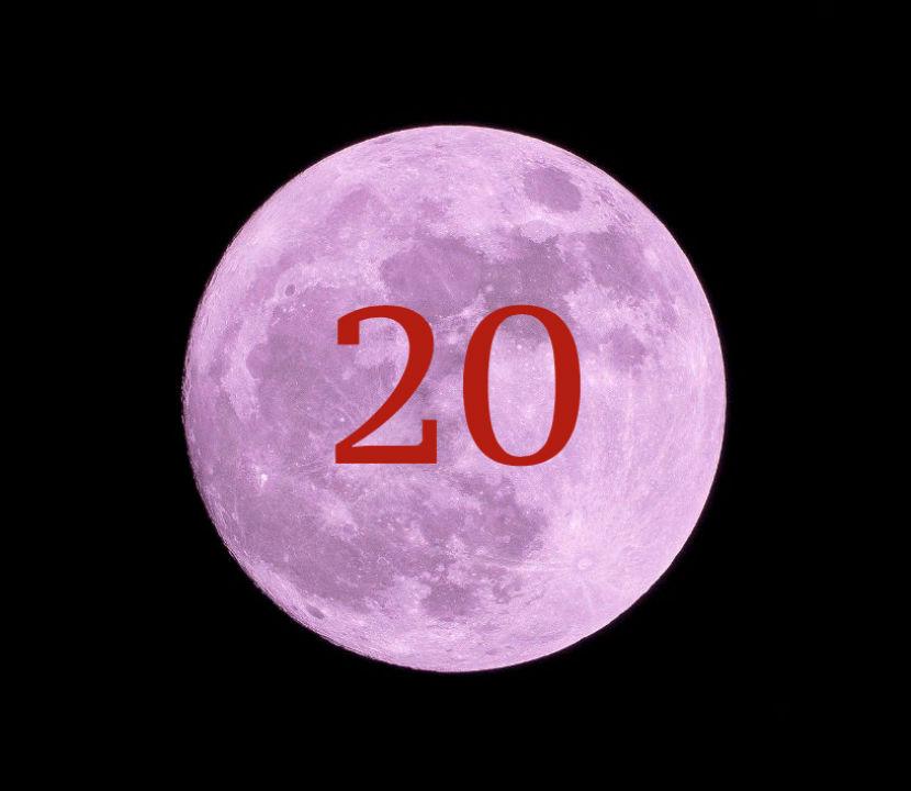луна 20