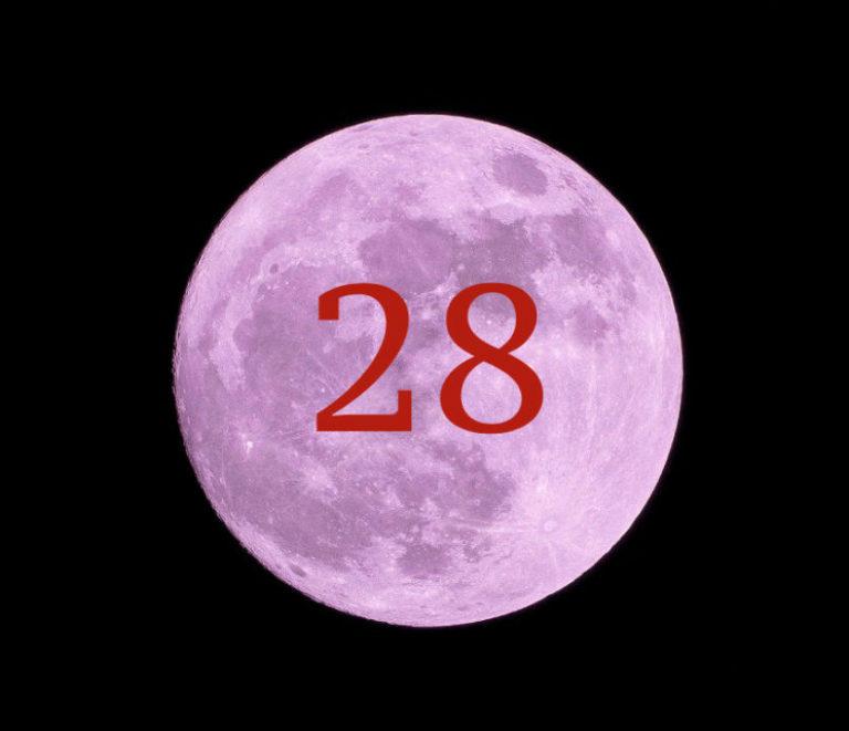 луна 28