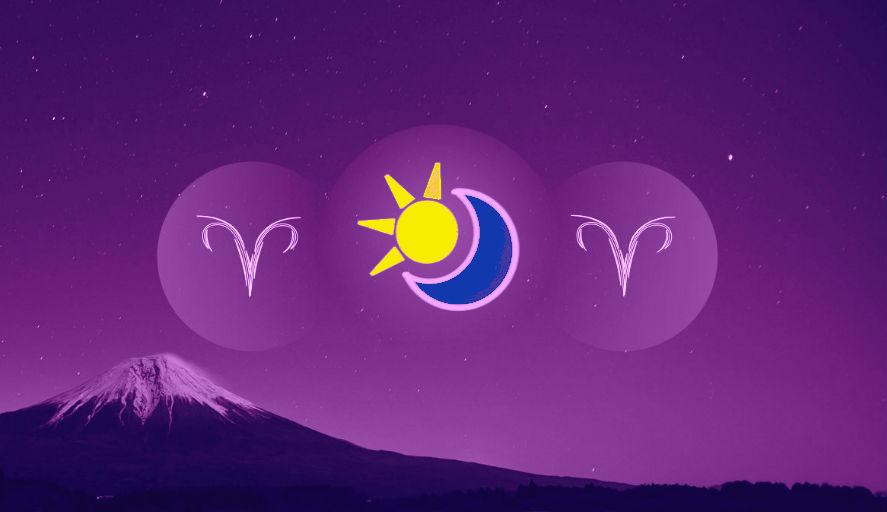 Знаки солнце и луна