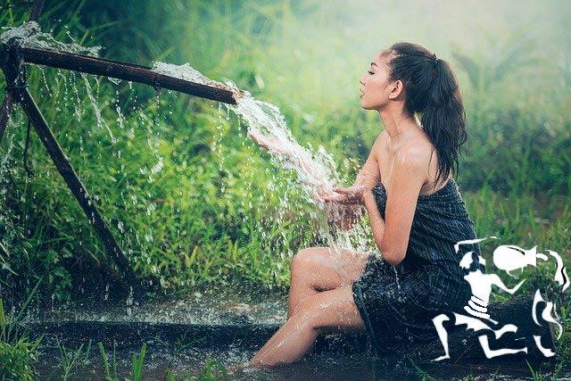 Женщина-водолей