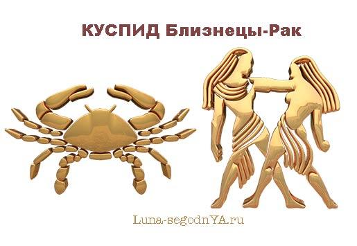 Куспид Близнецы-Рак