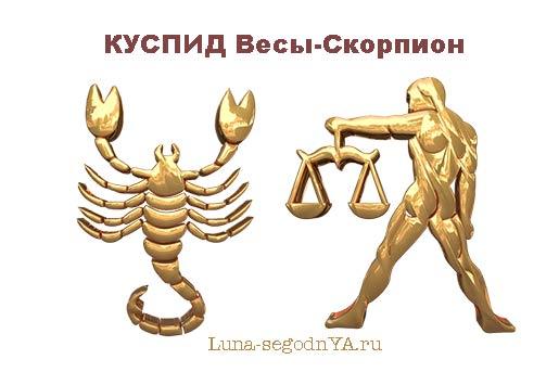 Куспид Весы-Скорпион