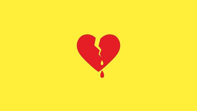 сердце разбили